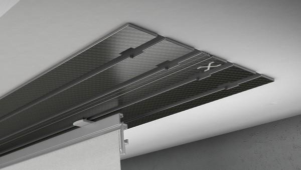 X-rail Basic Carbon 4-läufig |cm
