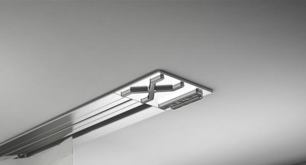 Endkappe X-rail Titan re Edelstahl 1-lfg (SD)