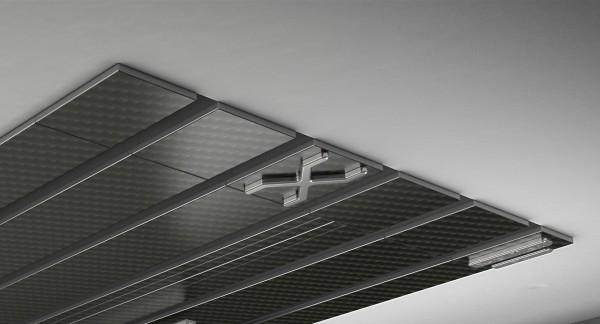 Endkappe X-rail Titan li Carbon 5-lfg (TB)