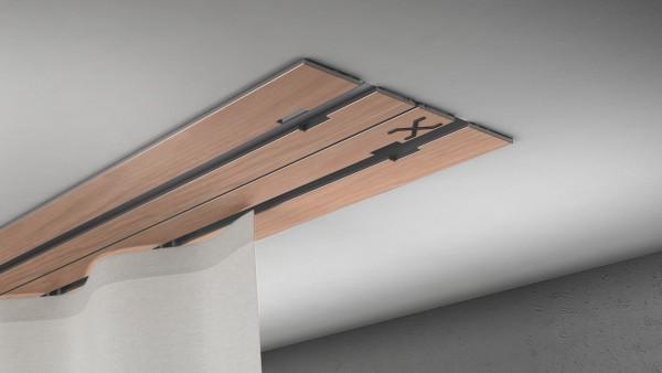 X-rail Basic RAL / Holz divers (auf Anfrage) 2-läufig |cm