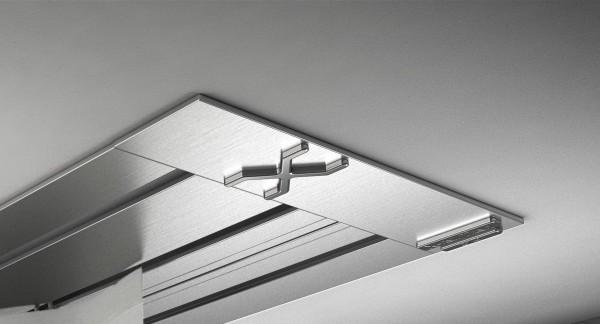 Endkappe X-rail Titan li Edelstahl 3-lfg (SD)