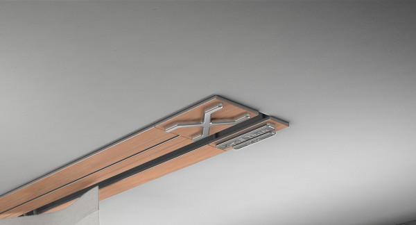 Endkappe X-rail Titan li RAL / Holz divers (auf Anfrage) 1-lfg (TB)