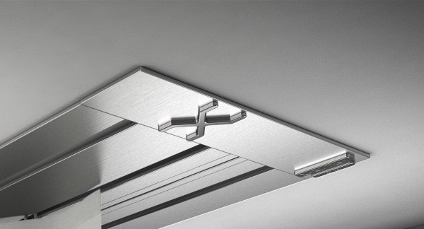 Endkappe X-rail Titan re Edelstahl 3-lfg (SD)