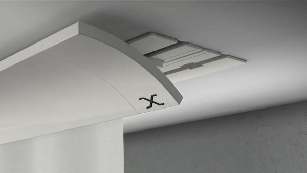 X-wave BASIC 1-5 läufig Alu weiß