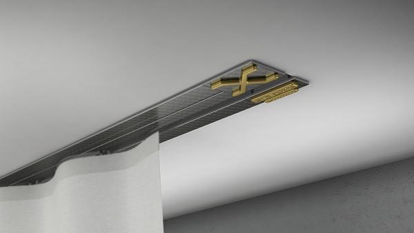 Endkappe X-rail Gold re Carbon 1-lfg (TB)