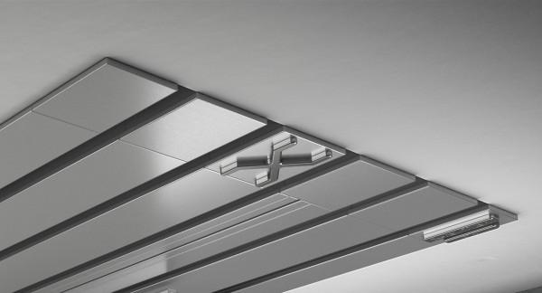 Endkappe X-rail Titan li Alu eloxiert 5-lfg (TB)