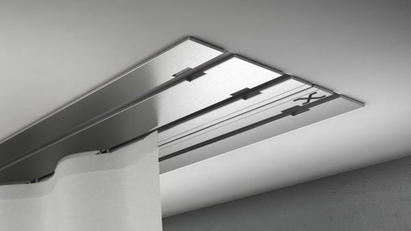 X-rail Basic Edelstahl 3-läufig  cm