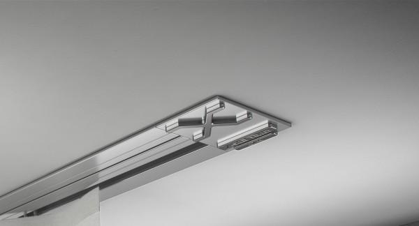 Endkappe X-rail Titan li Alu eloxiert 1-lfg (SD)