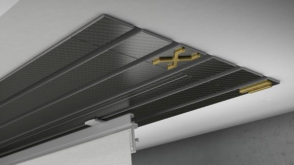 Endkappe X-rail Gold re Carbon 5-lfg (TB)