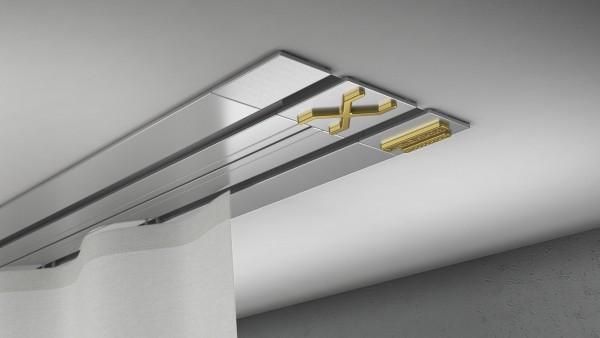 X-rail GOLD 1-5 läufig Aluminium