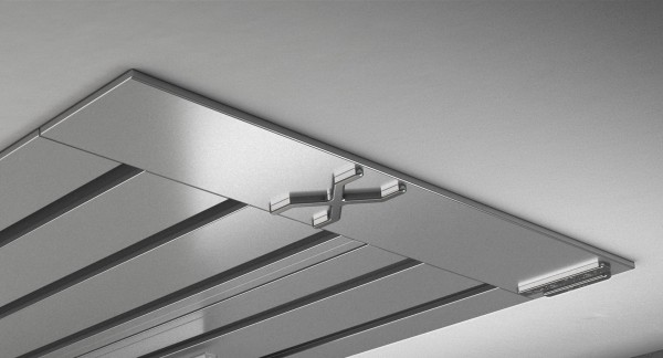 Endkappe X-rail Titan li Alu eloxiert 5-lfg (SD)