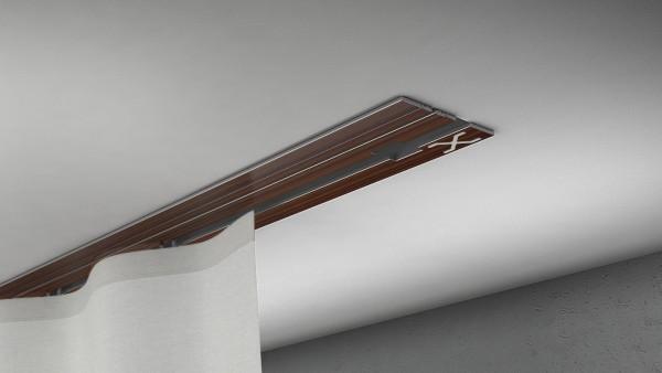 X-rail Basic Palisander 1-läufig |cm