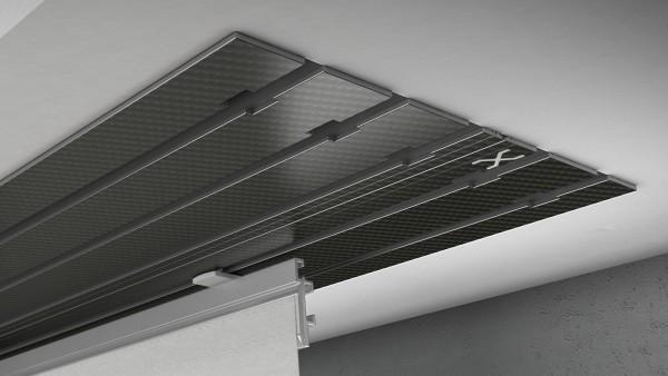 X-rail Basic Carbon 5-läufig |cm
