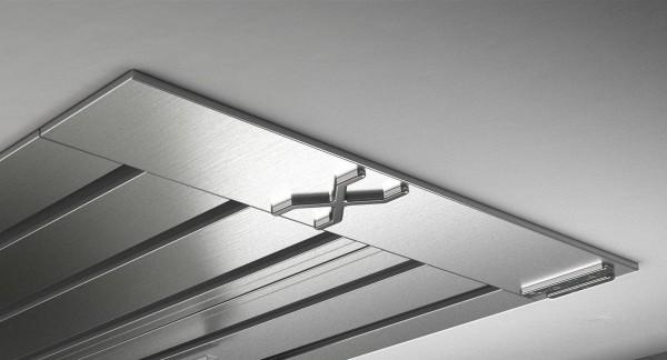 Endkappe X-rail Titan li Edelstahl 5-lfg (SD)