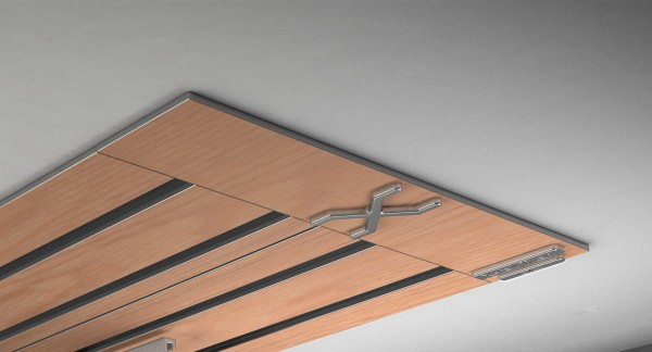 Endkappe X-rail Titan re RAL / Holz divers (auf Anfrage) 4-lfg (SD)