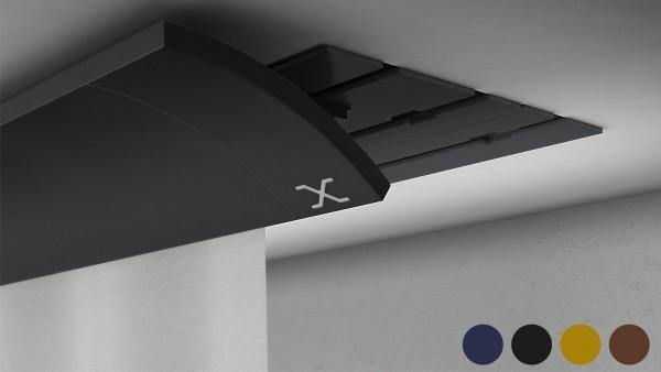 X-wave BASIC 1-5 läufig RAL Farbe / Echtholzfurnier