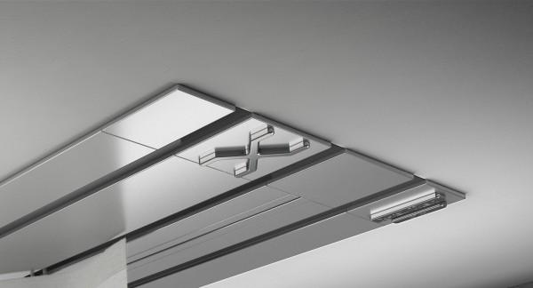 Endkappe X-rail Titan re Edelstahl 3-lfg (TB)
