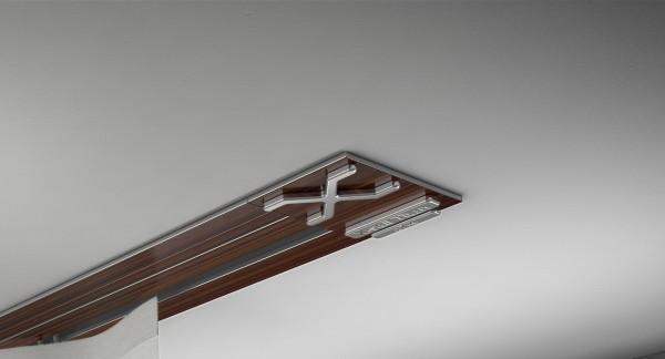 Endkappe X-rail Titan li Palisander 1-lfg (SD)