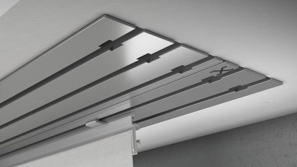 X-rail Basic Aluminium 5-läufig   cm
