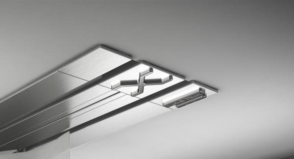 Endkappe X-rail Titan re Edelstahl 2-lfg (TB)