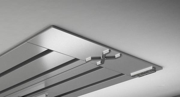 Endkappe X-rail Titan li Alu eloxiert 4-lfg (SD)
