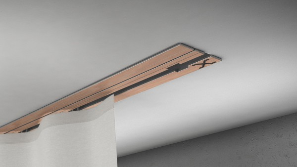 X-rail Basic RAL / Holz divers (auf Anfrage) 1-läufig  cm