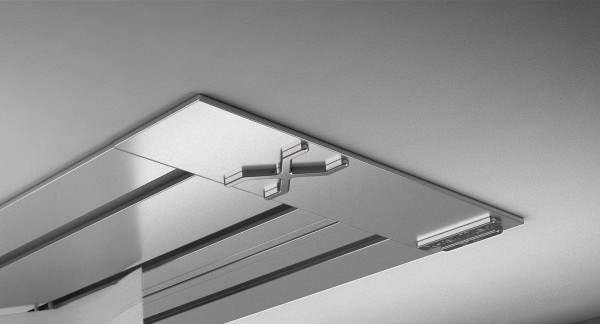 Endkappe X-rail Titan li Alu eloxiert 3-lfg (SD)