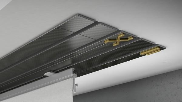 Endkappe X-rail Gold re Carbon 4-lfg (TB)