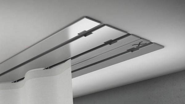 X-rail Basic Aluminium 3-läufig | cm