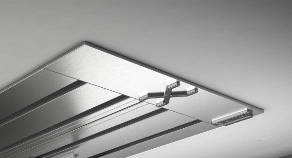 Endkappe X-rail Titan li Edelstahl 4-lfg (SD)