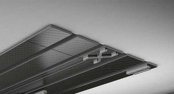 Endkappe X-rail Titan li Carbon 4-lfg (TB)