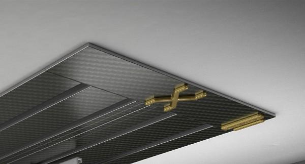 Endkappe X-rail Gold re Carbon 4-lfg (SD)