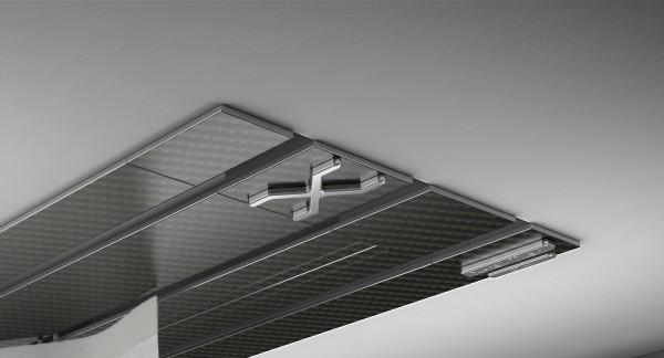 Endkappe X-rail Titan li Carbon 3-lfg (TB)