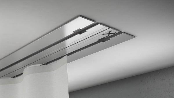 X-rail Basic Aluminium 2-läufig | cm