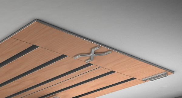 Endkappe X-rail Titan li RAL / Holz divers (auf Anfrage) 5-lfg (SD)